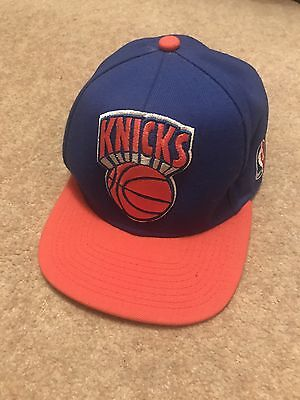 New York Knicks Mitchell & Ness SnapBack Cap Flat Peak NBA
