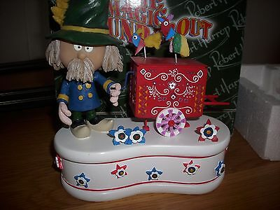 Robert Harrop the Magic Roundabout Mr Rusty Limited Edition music box