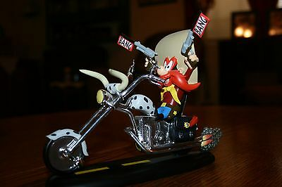 Yosemite Sam Loony Tunes Bikers Collection Figurine Harley Rare Limited Edition