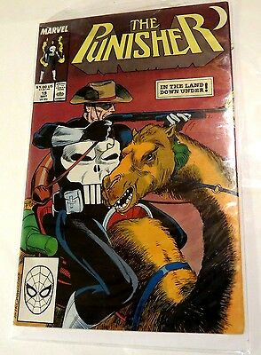 The Punisher #19 Marvel Copper Age  Comic CB1558