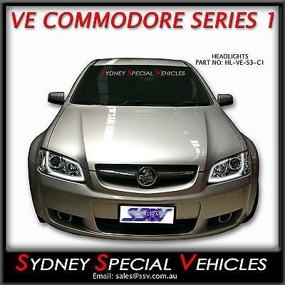 how to change a headlight in a ve commodore