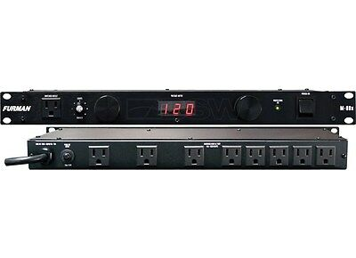 Furman M-8Dx 9-Outlet 15 Amp Power Conditioner W/ Lights M8Dx M 8 D X
