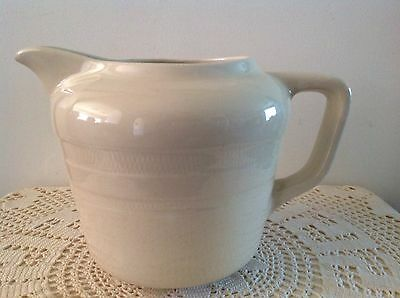 Very Large Wembley Ware Romney 80. Cream Coloured Jug