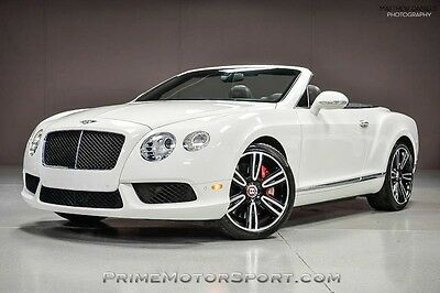 2014 Bentley Continental GT GTC V8 Convertible 2-Door 2014 BENTLEY CONTINENTAL GTC V8 MULLINER SPORT EXHAUST 21S MORE