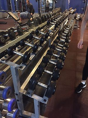 Commercial Dumbbell Rack (Aust Barbell Co)