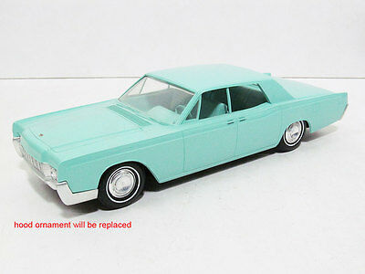 1967 Lincoln Continental 4DR Promo, graded 9 out of 10.  #21965
