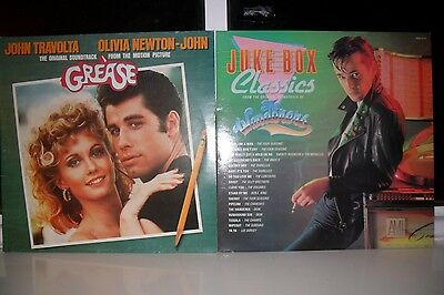 Grease-Ost(Spdlp4)+The Wanderers-Ost(Shm3069),four Seasons,franki Valli,travolta