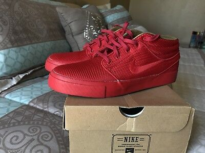 93a16526d835 Nike SB Janoski Red October Mesh Mid Japan Exclusive Chinese New Year Size  9.5