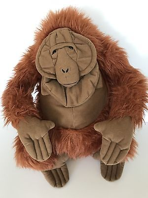 Disney The Jungle Book King Louie Monkey Plush Stuffed Toy 14""