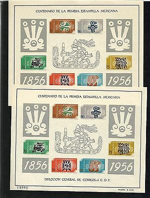 R323) MEXICO 896a MINT NEVER HINGED AZTEC DESIGN SHEET CATALOG $75