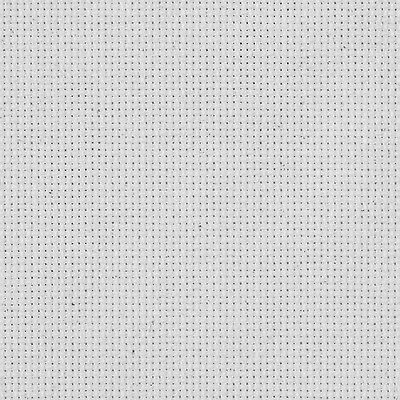 M C G Textiles 15 x 18-inch 18-Count Aida Cross Stitch Fabric White