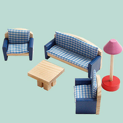 Doll House Furniture Kids Stuff Lounge Room 1/12 Scale Fk04
