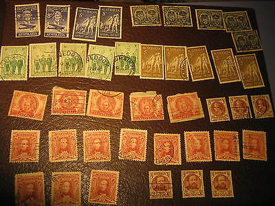 SELECTION OF MIXED  australian stamps FROM DECEASED ESTATE.