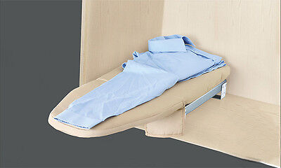 Pleasantly Surprised! Household Fold-down and Compact Wall-Mounted Ironing Board