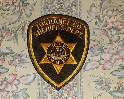 Torrance County New Mexico Sheriff Shoulder Patch