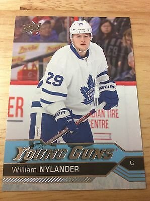 William Nylander 2016/17 Upper Deck Young Guns Rookie -Maple Leafs!