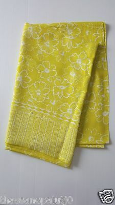 1Batik Tablecloth Ethnic Or scarf  Beautiful home Add happiness to eat . 48x68'