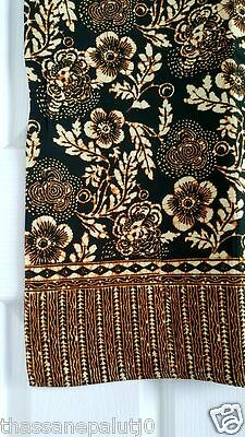 1Batik Tablecloth Ethnic hand Beautiful home Add happiness to eat . 48x68'