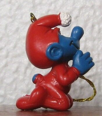Smurfs - Rare - Christmas Ornament Praying Smurf!