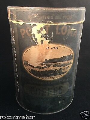Point Loma Antique Coffee Can MAKE ME AN OFFER!!!