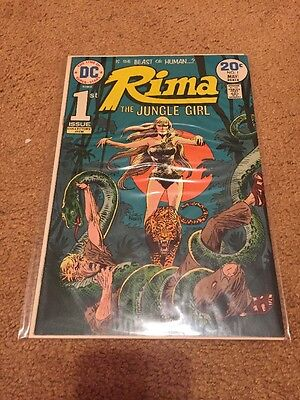 Rima, the Jungle Girl #1 (Apr-May 1974, DC) GD