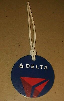 Delta Airlines luggage bag tag