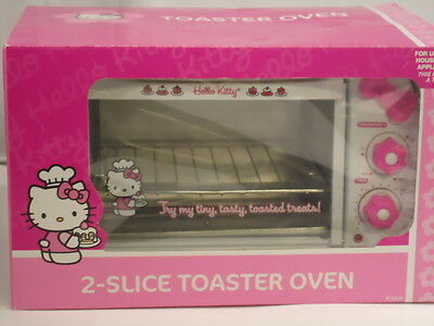 Hello Kitty 2 Slice Toaster Oven Sanrio RARE Collectible ONLY One NEW On EBAY