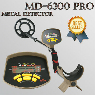 MD-6300 Professional Metal Detector Underground Gold Finding Hunter Digger LCD