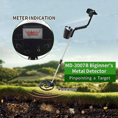 Underground Metal Detector Waterproof Coil Digger Deep Gold Hunter Pinpointing