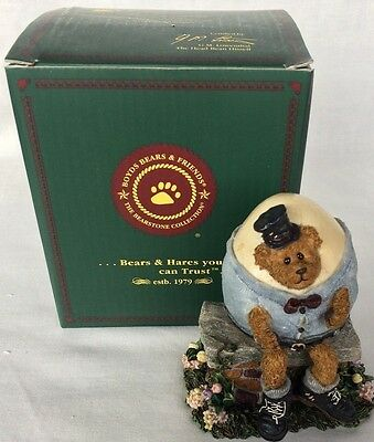 The boyds Bears Resin collection Humpy Dumpy All Cracked Up Bearstone Vintage