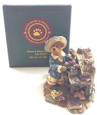 The Boyds Bears Resin Collection Martha Bloomengrow #227748 Bearstone Vintage