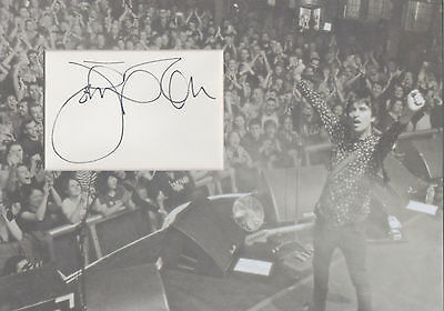 JOHNNY MARR Signed 12x8 Photo Display THE SMITHS COA