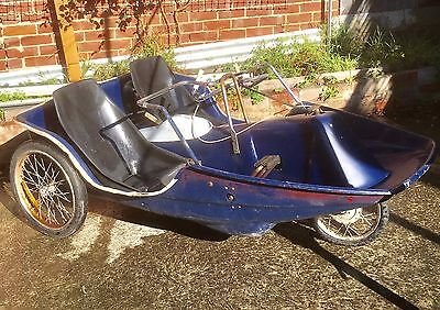 Antique Dual Seat 3 Geared Peddle Car With Hand Brake With Detatchable Bonnet