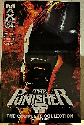 MARVEL THE PUNISHER MAX  THE COMPLETE COLLECTION VOLUME 4 brand new