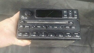1999-2004 Ford F-150 Factory OEM Stereo CD Player Radio FM AM YL3F-18C869-AA