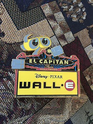 Wall-E El Capitan Marquee Pin LE 300 Disney Soda Fountain - DSF
