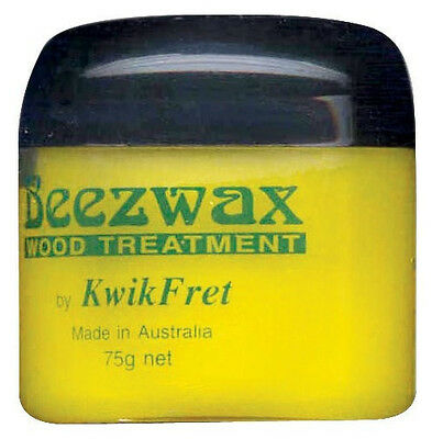 BEEZWAX KB9 by Kwik Fret. Australian made pure bees wax, protects fretboards.