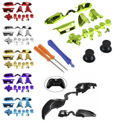 Full Set Replacement LB RB Bumpers Triggers Buttons Fr Xbox One Elite Controller