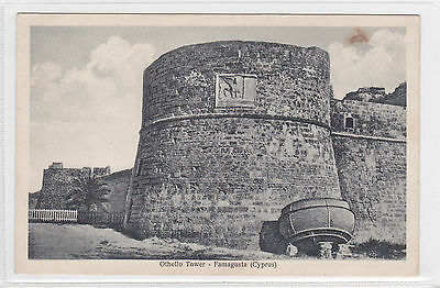 Cyprus Postcard Othello Tower Famagusta No 84D Unknown Publisher