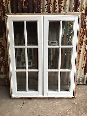 Timber Double Casement Window 1020w X 1250h Country Colonial Style Federation