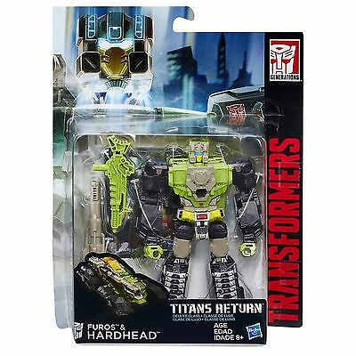 Transformers Generations Titans Return Deluxe Class Hardhead Action Figure