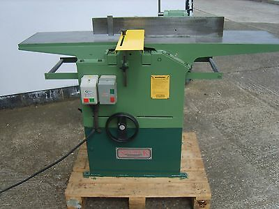 Sedgwick Mb Single Phase Planer Thicknesser £1950 + Vat