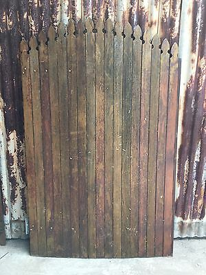 Timber Side Gate Picket Fence 1135w X 1800h