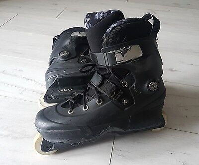 USD Nick Lomax AEON 61mm size 8-9 (Great Condition) - NOT VALO ROCES ROLLERBLADE