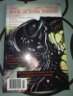 Book of Dark Wisdom #5 – Lovecraftian Horror - US digest magazine – 2004