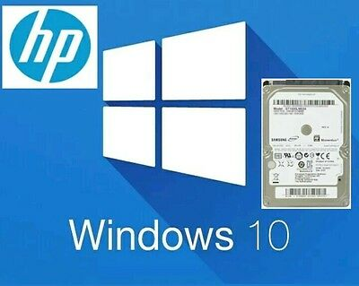 "1TB 2.5"" SATA Internal Laptop Hard Drive with HP Windows 10 Pre Installed"