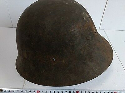 World War 2 WWII Japanese Military Soldier's and Civilian's Iron HELMET-K-