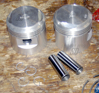 Triumph 650ccm T110 TR6 STD low compression PISTONS kolben 70-3610 with rings