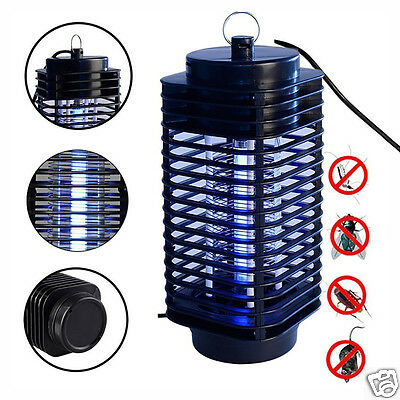 220V US/EU Plug Safty Electric Mosquito Fly Insect Killer LED Trap Lamp for Room