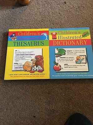 Childrens Illustrated Thesaurus + Dictionary As New